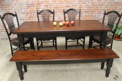 rustic farm table ecustomfinishes