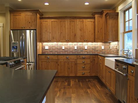 rustic kitchen furniture kitchen cabinets rustic kitchen other by kaufman