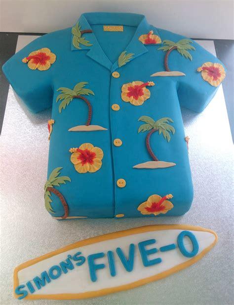 hawaiian shirt novelty birthday cake susies cakes