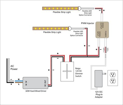 light reign  led dimmer switch wiring diagrams