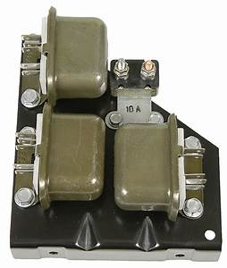67 Camaro Rs Headlight Relay Board Assembly
