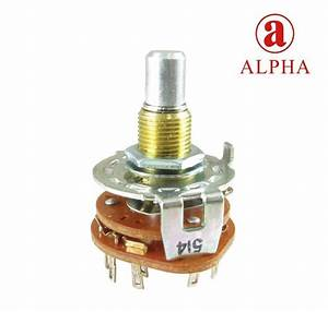 Rotary Switch  Alpha   Choice Of 3 Or 4