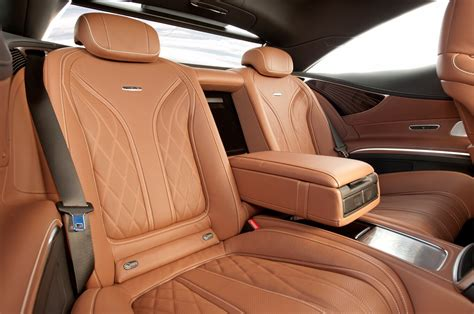 The entire cockpit is designed using fine, carefully selected leather materials. 2015 Mercedes-Benz S65 AMG Coupe First Test