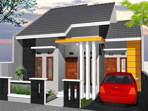 desain teras rumah minimalis tampak depan wallpaper dinding