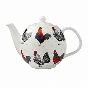 rooster teapot by ulster weavers | notonthehighstreet.com