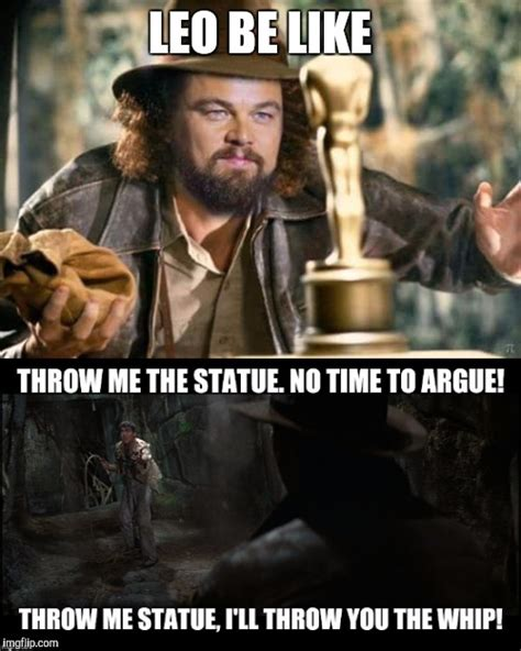 image tagged in leonardo dicaprio indiana jones imgflip
