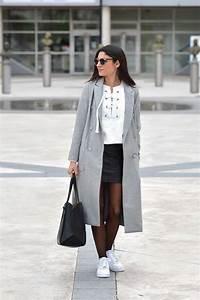 Tenue A La Mode : lace up sweatshirt leather skirt june sixty five ~ Melissatoandfro.com Idées de Décoration