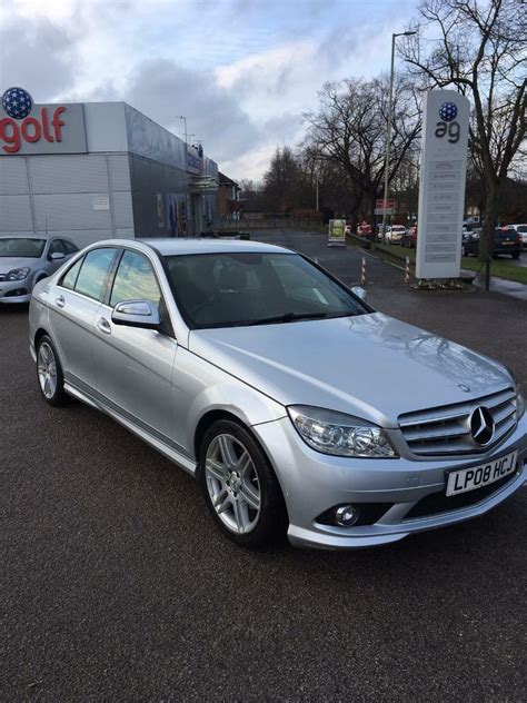 View all features and specs; 2008 Mercedes c200 C class AMG Sport, 2.1 diesel, drives superb, years mot | in Norwich, Norfolk ...