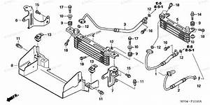 Honda Atv 2006 Oem Parts Diagram For Oil Cooler