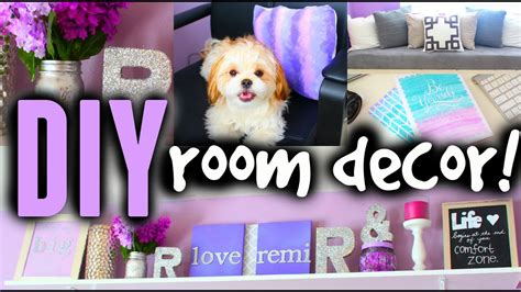 diy room decor ideas  teens cute cheap easy youtube