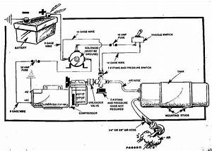 115 Volt Air Pressor Motor Wiring Diagram