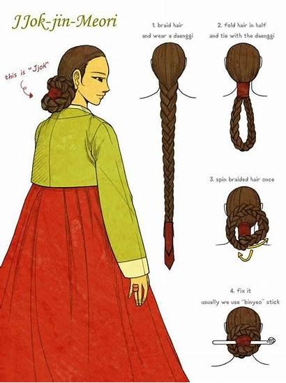 Korean Deviantart Traditional Meori Jin Glimja Hair