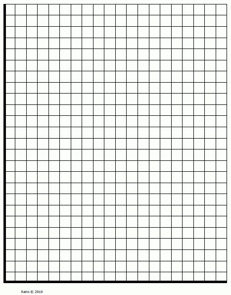 Blank Graph Quadrant 1  Printables And Menu