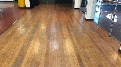 Wood Floor Restoration  Gladesmore Community School