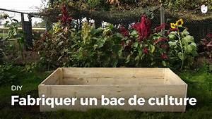 Fabriquer Un Potager Surélevé En Bois : fabriquer un bac de culture youtube ~ Melissatoandfro.com Idées de Décoration