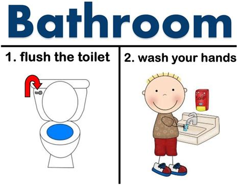 Funny Bathroom Pass Ideas by Do You Have A Bathroom In Your Classroom And Need A Visual