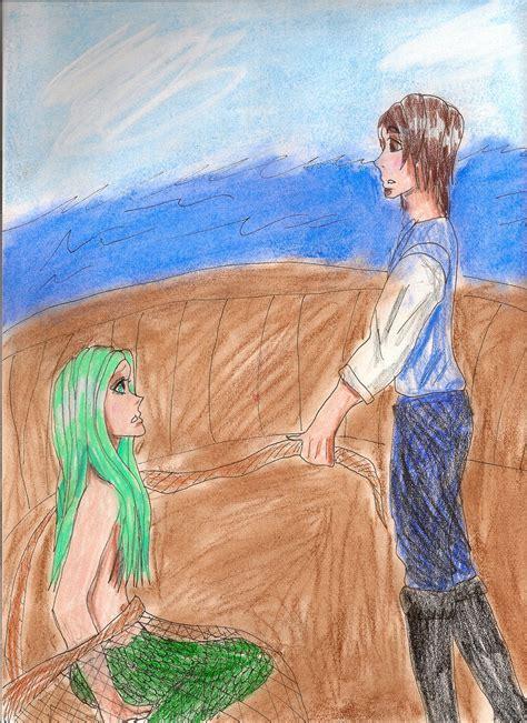 anime in net the captured mermaid by owlkatz on deviantart