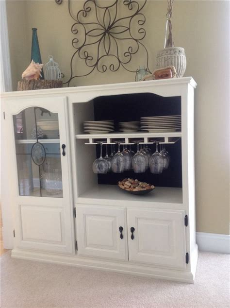kitchen cabinet tv stand repurpose an tv cabinet into something new home