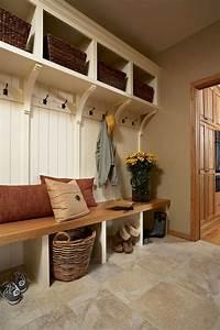rustic farmhouse mudroom bench ideas 40 mud room