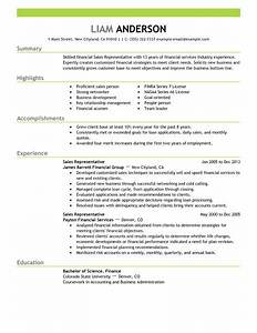 best sales representative resume example livecareer With sales representative resume templates free