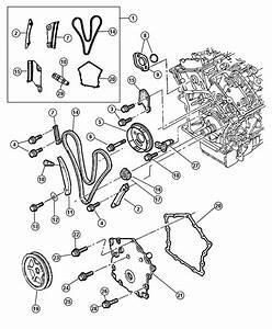 Dodge Magnum Damper  Crankshaft  Eer  Timing  Chain