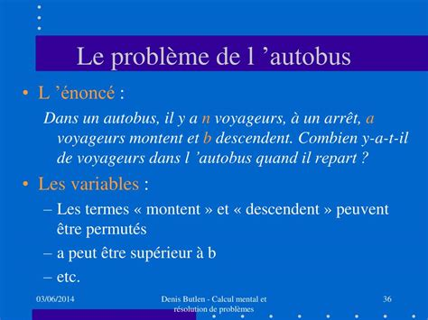 ppt calcul mental et r 233 solution de probl 232 mes entre sens et technique powerpoint presentation