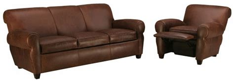 leather rolled  queen sleeper sofa  recliner set