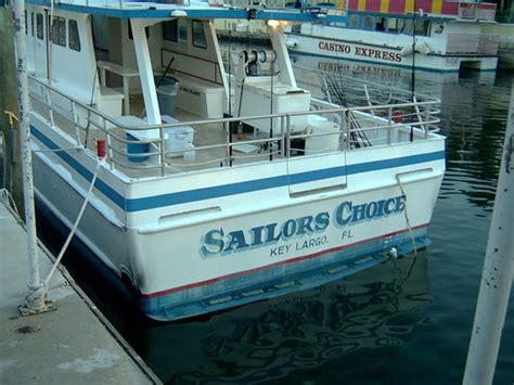Party Boat Fishing Stuart Fl by Sailors Choice Party Fishing Boat Key Largo Fl
