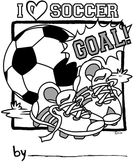 coloring pages sports soccer coloring page