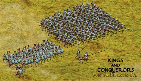 seleucid royal guard image and conquerors the