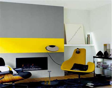 deco chambre jaune et gris décoration salon gris et jaune