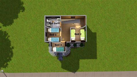6 bedroom house floor plans mod the sims tiny house 5 no cc 5 beds 1 bath