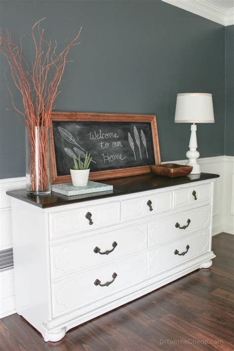 how to refinish a dresser with paint refinished dresser reveal erin spain