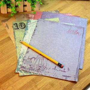 wholesale new retro letter paper and envelope set for With letter writing paper and envelopes