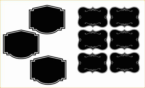Blank Label Template Blank Label Template Printable Label Templates