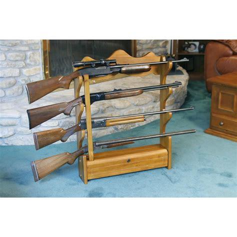 wall gun rack american furniture classics 4 gun wall rack 127299