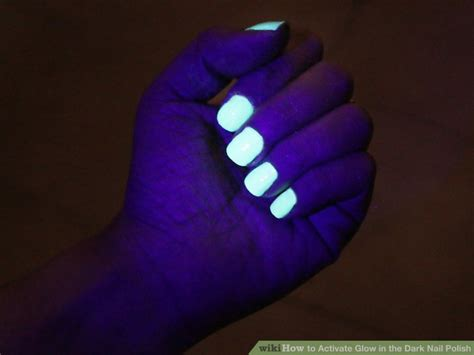 3 Ways To Activate Glow In The Dark Nail Polish