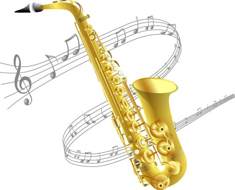 Saxophone Clipart Clipart Saxophone With Background
