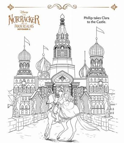 Nutcracker Coloring Pages Woods Into Sheets Realms