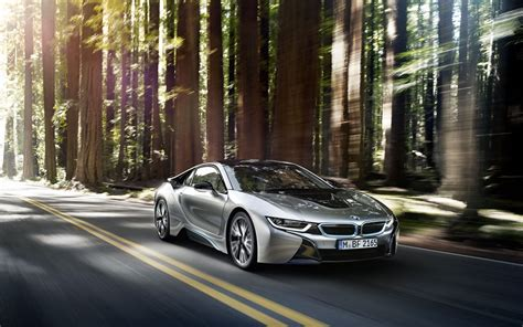 Bmw I8 Coupe Backgrounds by Bmw Bmw I8 Road Trees Sunlight Sports Car Coupe