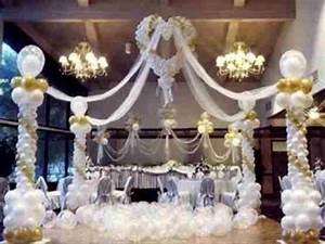 wedding balloon displays as wedding decorations balloon With balloon decoration for wedding reception