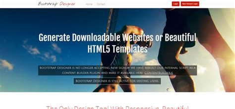 bootstrap design tool 30 best bootstrap editors you shouldn t miss bestdevlist