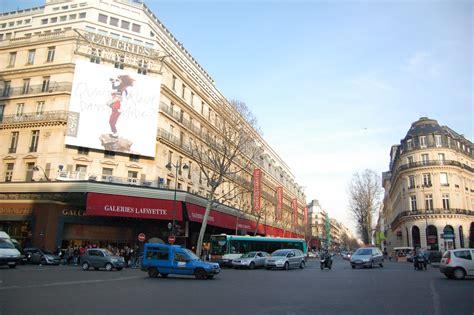 siege galerie lafayette boulevard haussmann