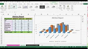 How To Create 3d Column Chart In Ms Office Excel 2016