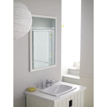 sterling 442007 0 white stinson 20 quot drop in bathroom sink