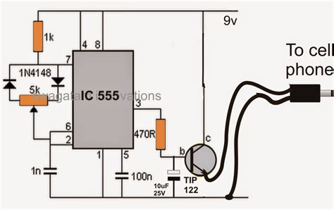 Simple Pwm Controlled Cell Phone Charger Circuit