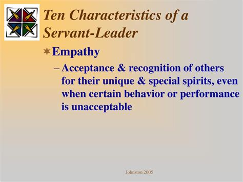 Ppt  Servant Leadershippersonal And Professional Self