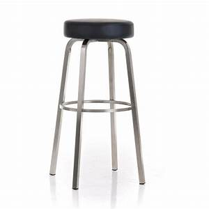 Hauteur D Assise : clp rond en acier inoxydable tabouret kamari hauteur d ~ Premium-room.com Idées de Décoration