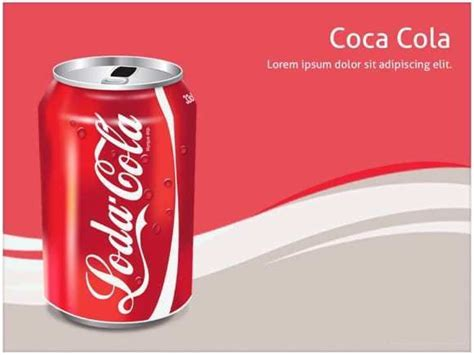 coca cola powerpoint template  creative