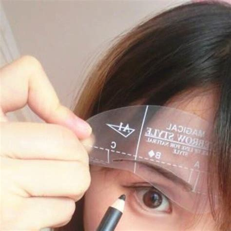 Apply straight horizontal lines that this helps draw the eye up and down and lengthens it. DIY Beauty Cosmetic Model Drawing Card Shaping A1 A4 ...
